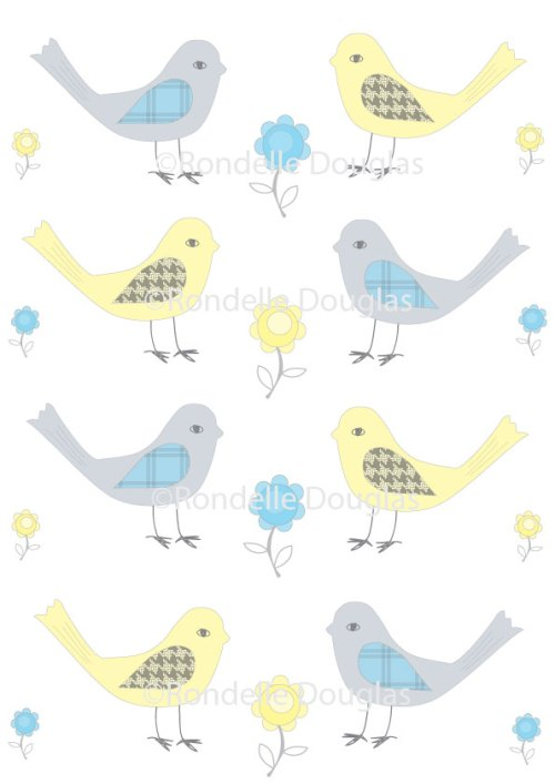 Birdie Fabric Design